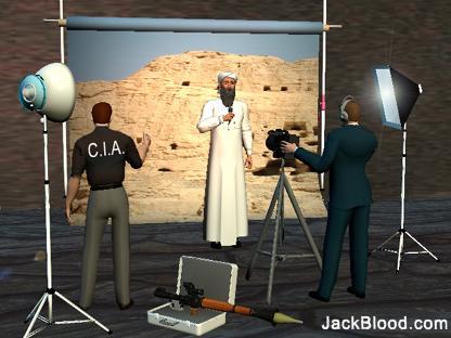 to osama bin laden. The Osama