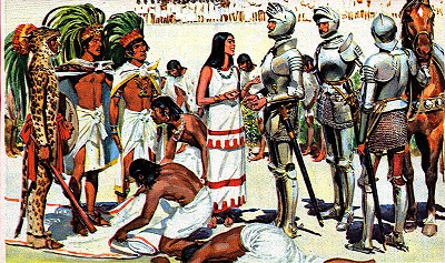 Spaniards & Hindus Conquered Mexico