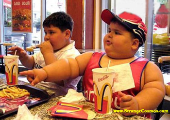 Fast Food Obesity Children that eating fast food