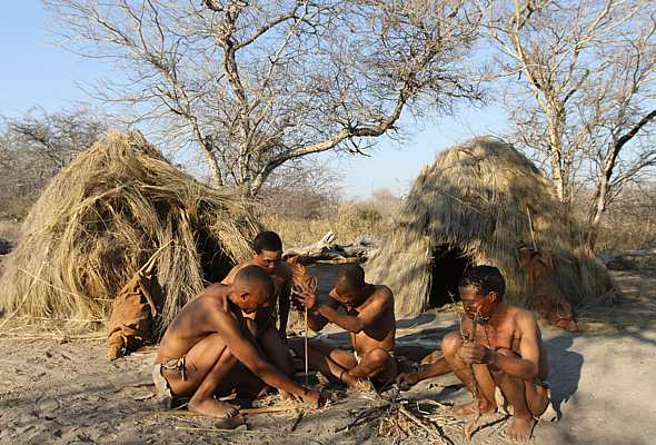 An analysis of the kung who are called bushman or san live in and around the kalahari desert